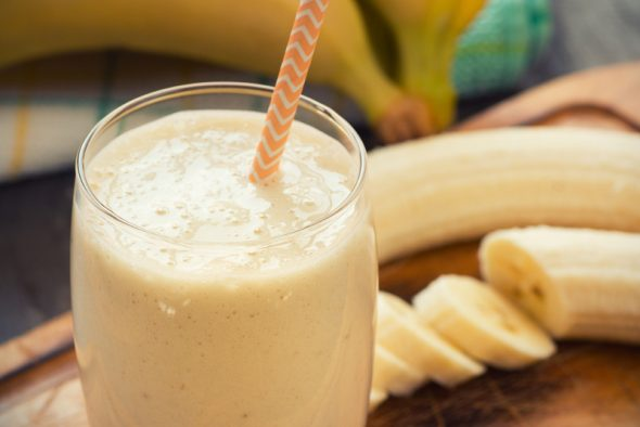 Banana Honey Nut Smoothie