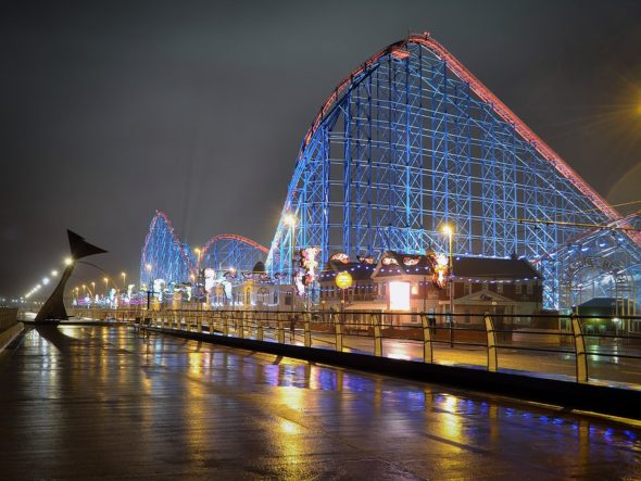 Enjoy fine dining along the Blackpool coast